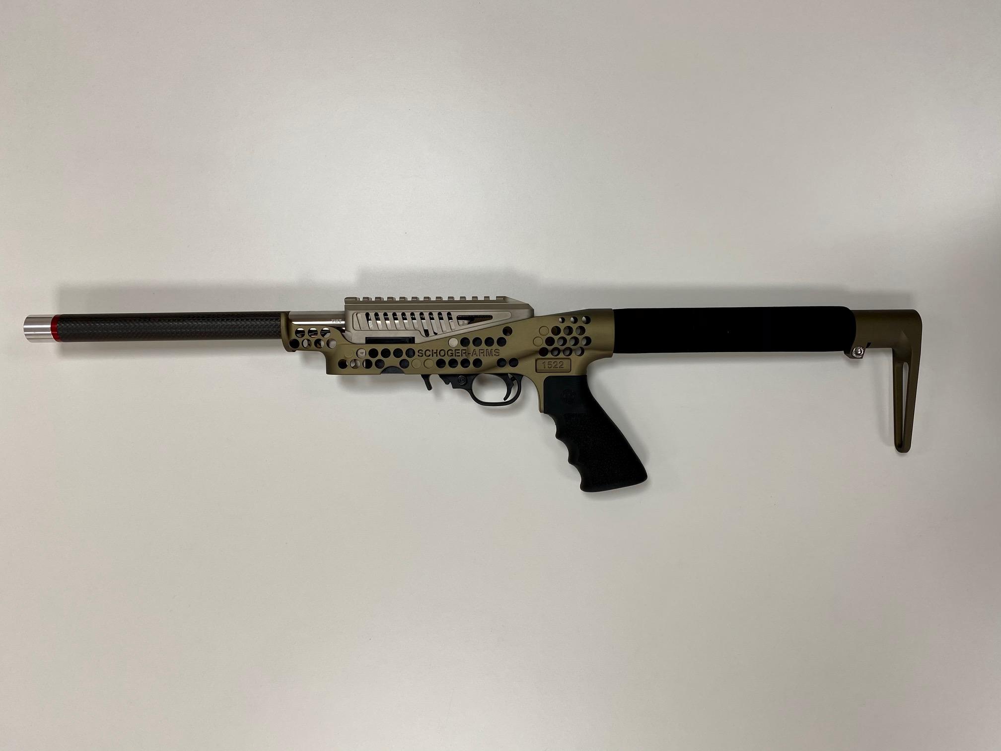 Schoger-Arms 11er Spezial Bronze .22lr