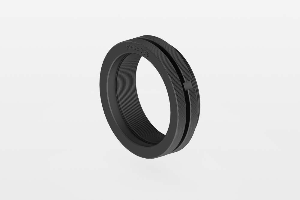 Recknagel Optic-Adapter Reduzierring M52x0,75 auf M33,5x0,75