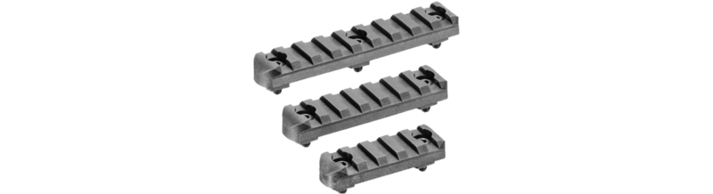 Unique Alpine M-Lok Picatinny Schienen Set